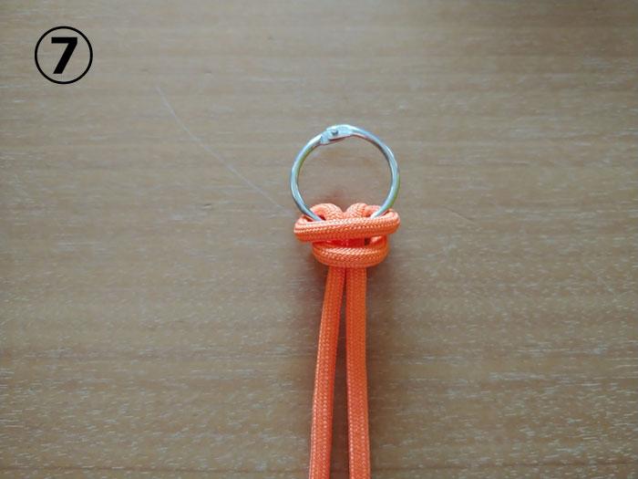 ソリッドリングの結び方